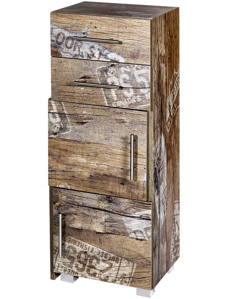 SCHILDMEYER Schiebe-Regal »Sofia«, BxHxT: 38 x 100,7 x 32 cm