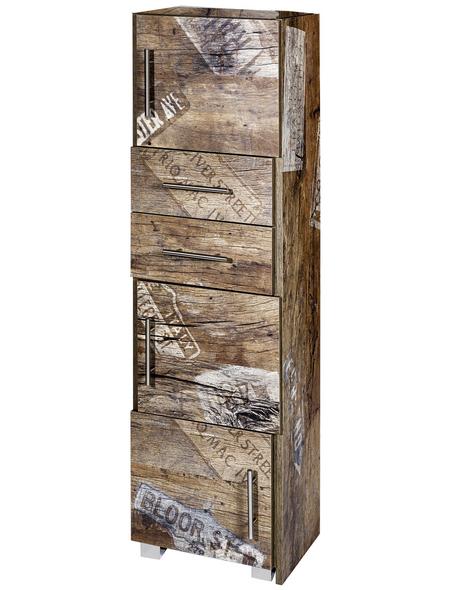SCHILDMEYER Schiebe-Regal »Sofia«, BxHxT: 38 x 133 x 31,5 cm
