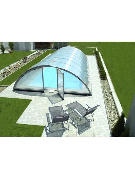 SUMMER FUN Schiebehalle »Bermuda«, BxL: 400 x 800 cm, Polycarbonat (PC)