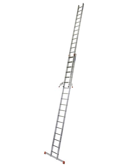KRAUSE Schiebeleiter »MONTO«, Anzahl Sprossen: 36, Aluminium