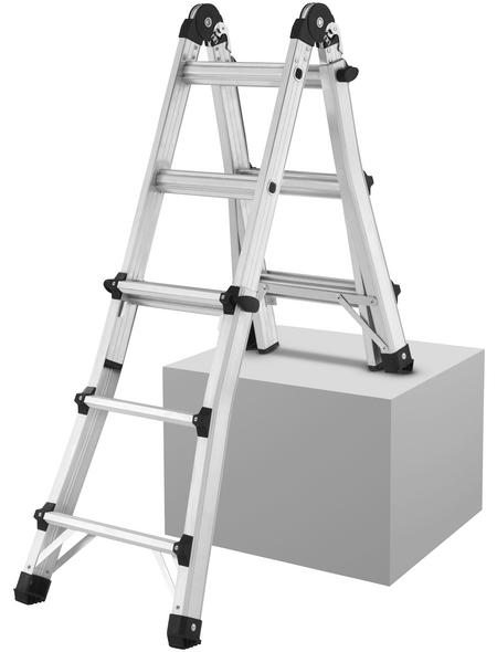 HAILO Schiebeleiter »MTL«, Anzahl Sprossen: 12, Aluminium