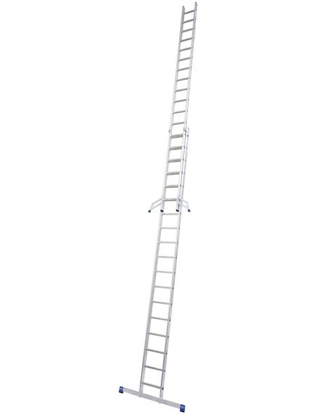 KRAUSE Schiebeleiter »STABILO«, Anzahl Sprossen: 36, Aluminium