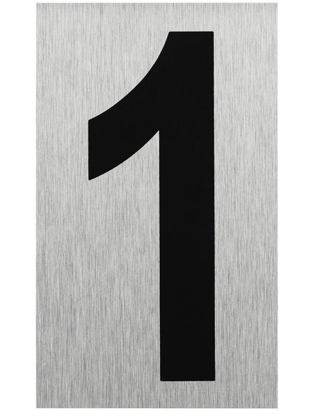 """SEILFLECHTER Schild, """"1"""", BxH: 10 x 6 cm"""
