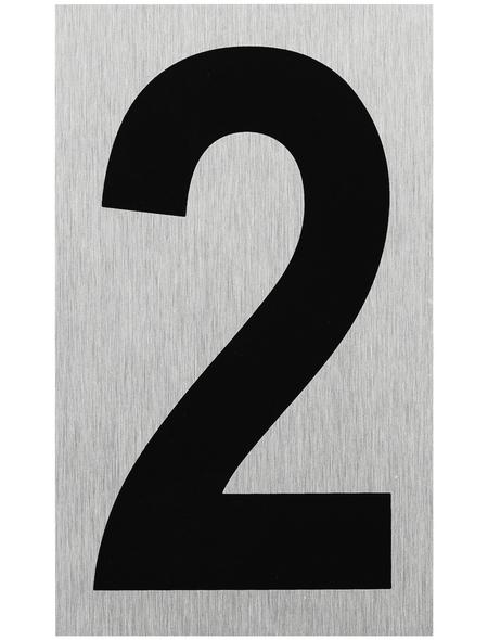 """SEILFLECHTER Schild, """"2"""", BxH: 10 x 6 cm"""