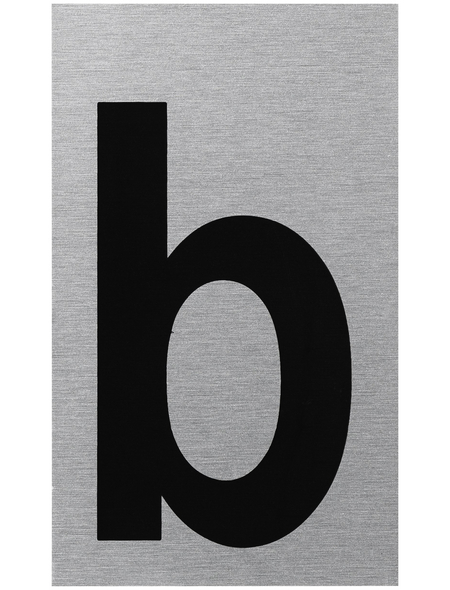 """SEILFLECHTER Schild, """"B"""", BxH: 10 x 6 cm"""