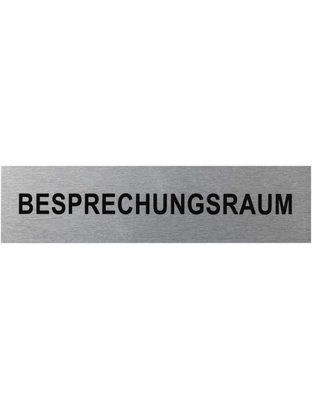 """SEILFLECHTER Schild, """"Besprechungsraum"""", BxH: 16 x 4 cm"""