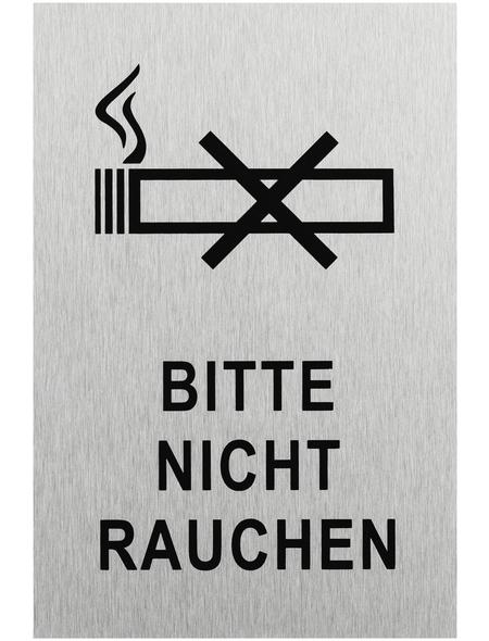 """SEILFLECHTER Schild, """"Bitte nicht rauchen"""", BxH: 15 x 10 cm"""