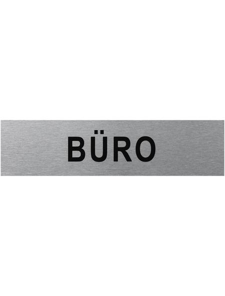 """SEILFLECHTER Schild, """"Büro"""", BxH: 16 x 4 cm"""