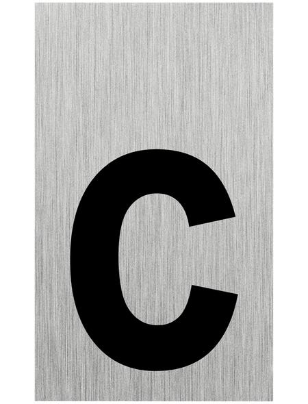 "SEILFLECHTER Schild, ""C"", BxH: 10 x 6 cm"