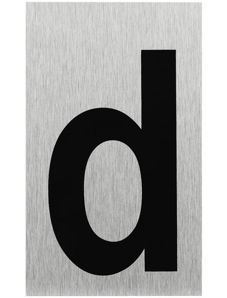 """SEILFLECHTER Schild, """"D"""", BxH: 10 x 6 cm"""