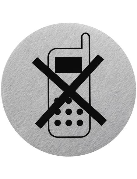 """SEILFLECHTER Schild, """"Handy ausschalten"""", BxH: 7,5 x 7,5 cm"""