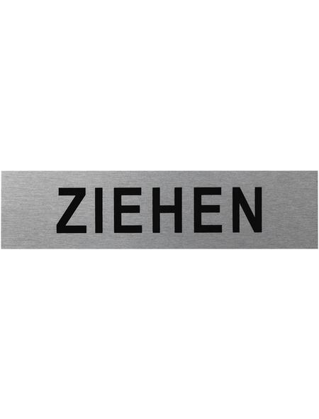 "SEILFLECHTER Schild, ""Ziehen"", BxH: 16 x 4 cm"