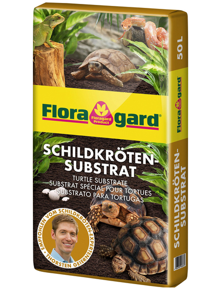 FLORAGARD Schildkrötensubstrat, für Schildkröten