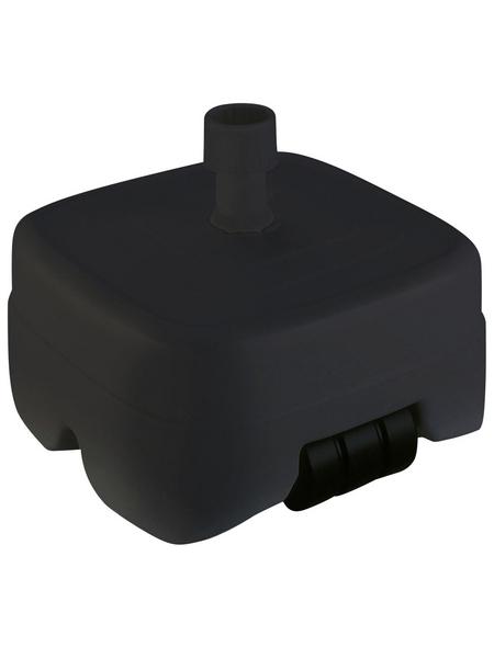 BEST Schirmständer, anthrazit, geeignet für Rohrdurchmesser 33-50 mm