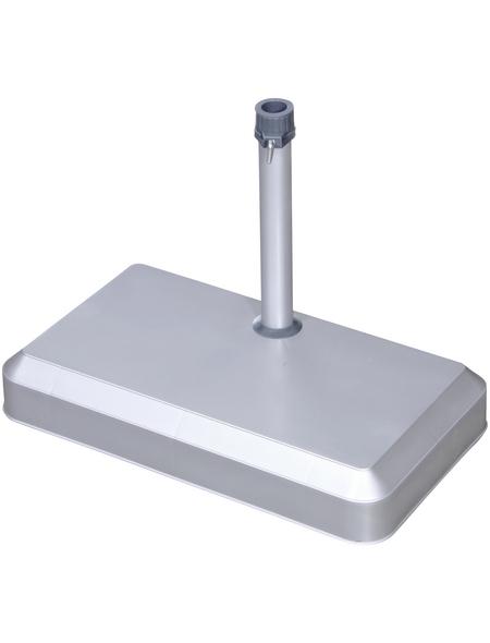 DOPPLER Schirmständer, Beton, Rohrdurchmesser: 25 - 32 mm