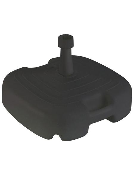 BEST Schirmständer, Kunststoff, Rohrdurchmesser: 20 - 38 mm