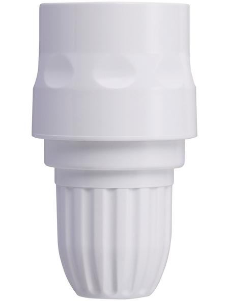 takagi Schlauchstück »G079SHEX«, Länge: 8,7 cm, Kunststoff, weiß