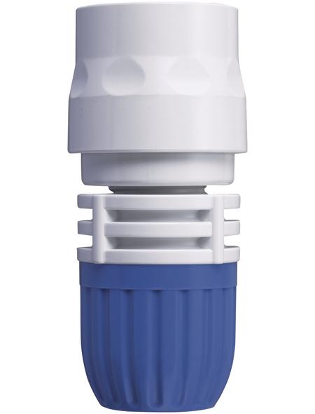 takagi Schlauchstück »G086EX«, Länge: 12 cm, Kunststoff, weiß/blau