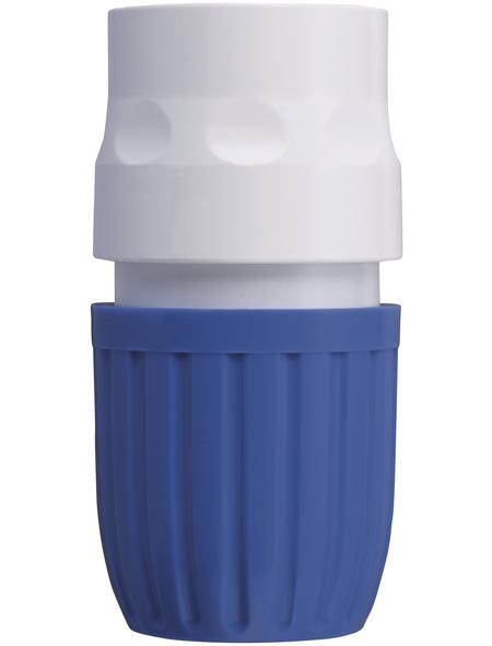 takagi Schlauchstück »G124EX«, Länge: 3,7 cm, Kunststoff, blau/weiß