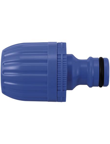 takagi Schlauchverbinder »G040EX«, Länge: 5,3 cm, Kunststoff, blau