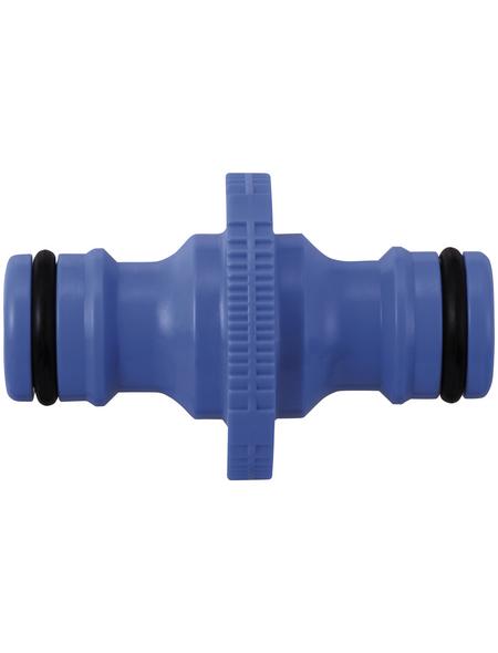 takagi Schlauchverbinder »G041EX«, Länge: 5,2 cm, Kunststoff, blau
