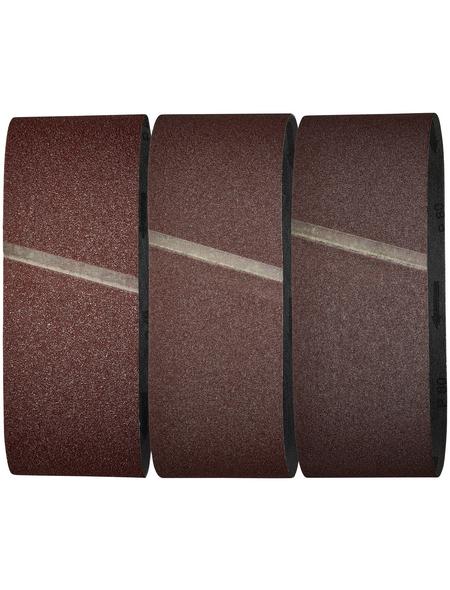 WOLFCRAFT Schleifband, Körnung: K40, K80, K120, rot