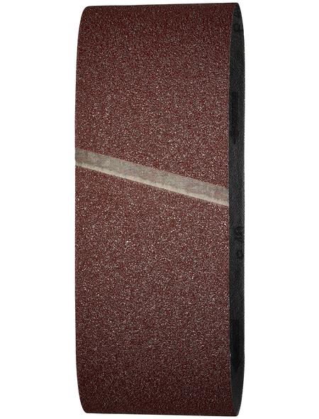 WOLFCRAFT Schleifband, Körnung: K40, rot