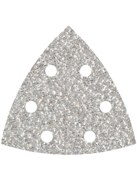 WOLFCRAFT Schleifblatt, 1161000, Silber, Körnung 60, 5 Stück