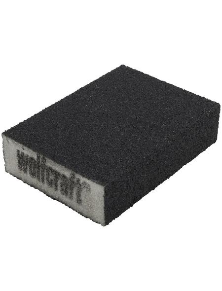 WOLFCRAFT Schleifblock Schaumgummi 10 x 7 x 2,5 cm
