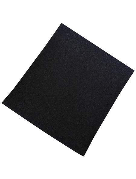 NESPOLI Schleifleinen, Schwarz, 230x280 mm, Körnung 40
