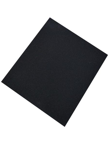 Schleifpapier, Anthrazit, Papier