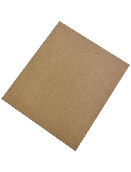 FLINT Schleifpapier, Braun, 230x280 mm, Körnung 100