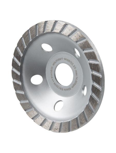 WOLFCRAFT Schleiftopf »Standard«, Ø: 105 mm, Metall