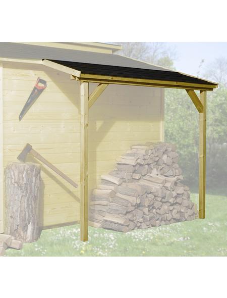 WEKA Schleppdach für Gartenhäuser, Holz