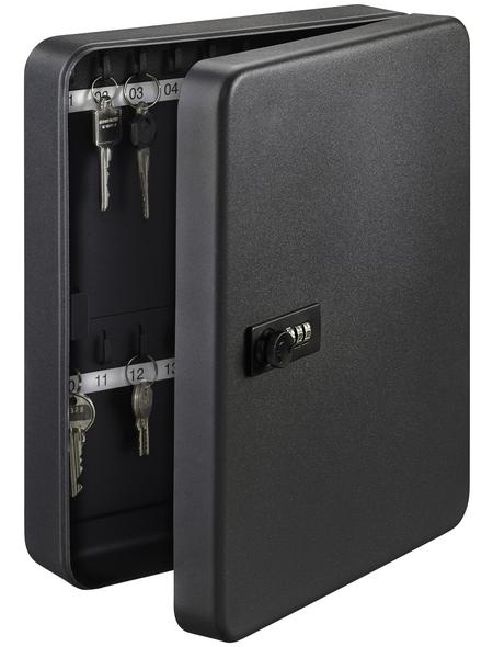 BURG WÄCHTER Schlüsselbox »KC 20 C«, mit Zahlenschloss, 16 x 20 x 6 cm