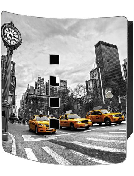 BURG WÄCHTER Schlüsselbox »Manhattan«, mit Magnetschloss, 21 x 24 x 7 cm