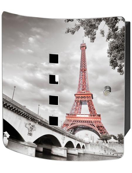 BURG WÄCHTER Schlüsselbox »Tour Eiffel«, mit Magnetschloss, 21 x 24 x 7 cm