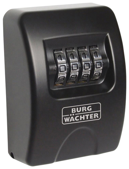 BURG WÄCHTER Schlüsseltresor »Key Safe«, mit Zahlenschloss, 6,1 x 8,5 x 3,9 cm