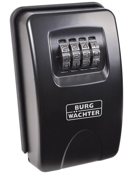 BURG WÄCHTER Schlüsseltresor »Key Safe«, mit Zahlenschloss, 8,3 x 13,5 x 4,6 cm