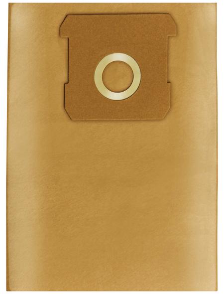 KRAFTRONIC Schmutzfangsack »KT-NT 18 «, 18 Liter, aus Papier, 5 Stück