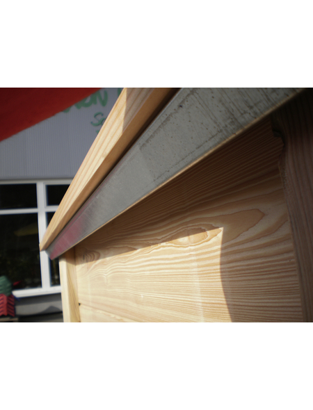 KGT Schneckenkante »Schneckenkante Woody 130«, BxHxL: 131 x 5 x 99 cm, Stahl