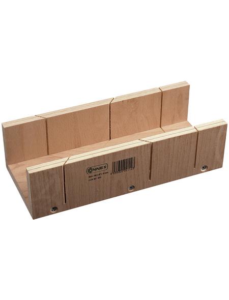 CONNEX Schneidladen Sperrholz 240 x 86 x 60 mm
