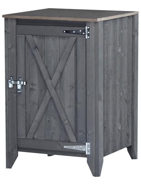 Schrank »Typ 564«, für Outdoorküche, Holz, hellgrau, 1 Fachböden