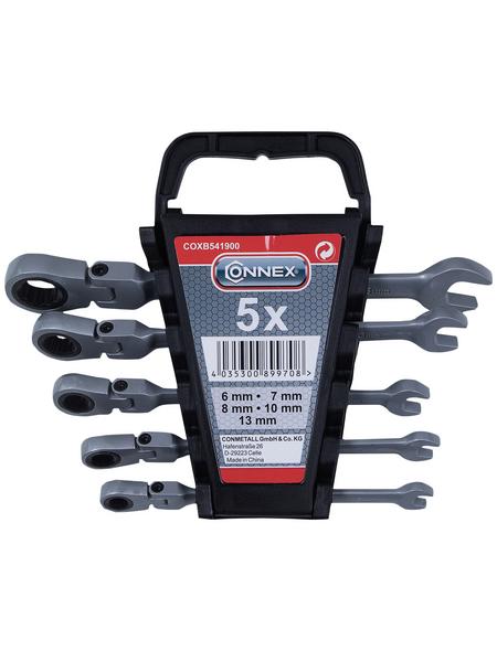 CONNEX Schraubenschlüssel, 5-tlg. Set, 6 - 13 mm