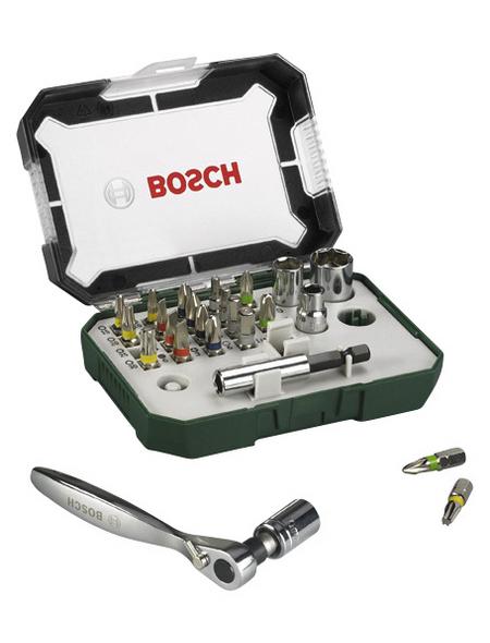 BOSCH Schrauber Bit-Set »Promoline 2607017322«, Sechskant