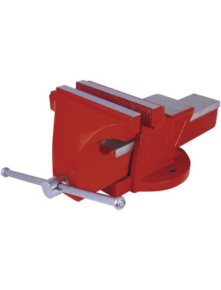 CONNEX Schraubstock, Spannweite: 125 mm