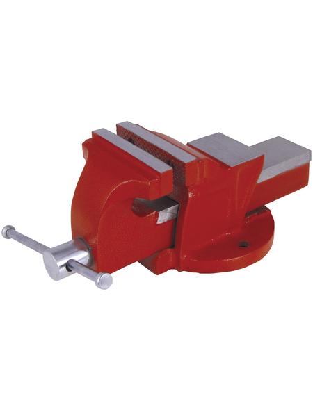 CONNEX Schraubstock, Spannweite: 85 mm, Backenbreite: 0,8 cm