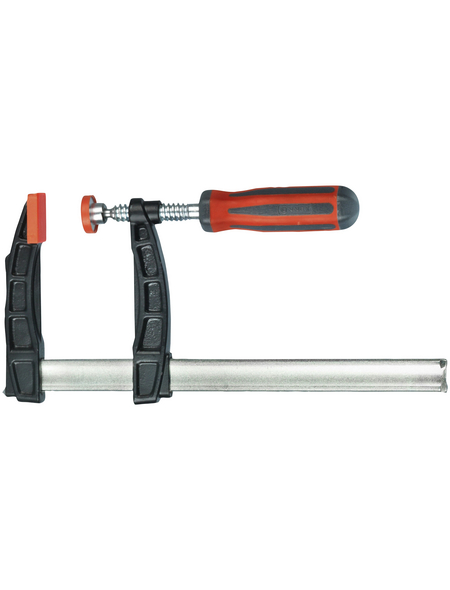 CONNEX Schraubzwinge, Spannweite: 120 - 300 mm, Temperguss