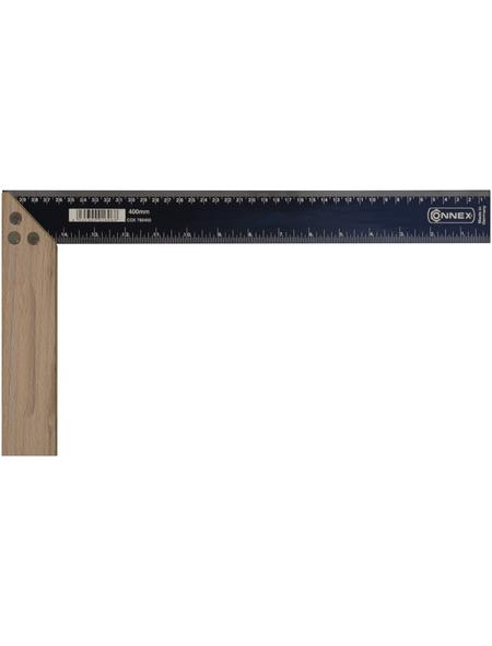 CONNEX Schreinerwinkel, Stahl   Holz, 400 mm