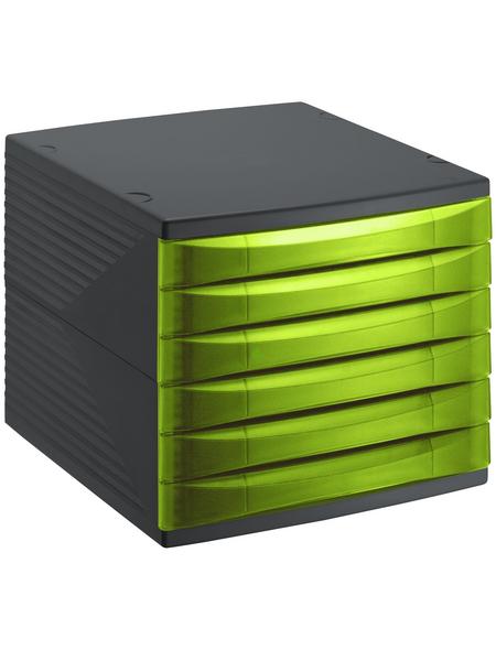 Rotho Schubladenbox »QUADRA«, BxHxL: 28 x 25 x 36,5 cm, Kunststoff